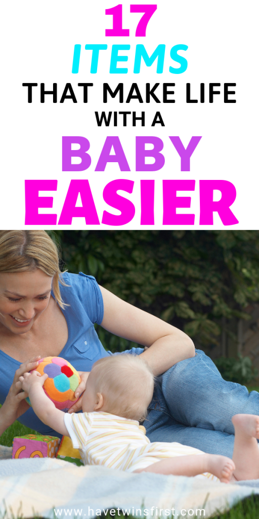 things that make life easier with a baby