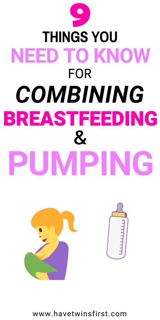 breastfeeding and pumping tips