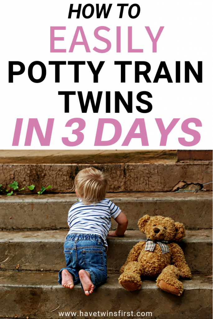 how to potty train twins in 3 days