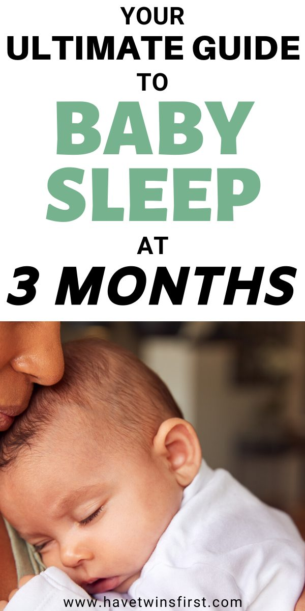 Your ultimate guide to baby sleep at 3 months.