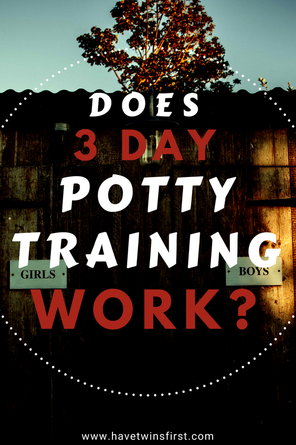 does 3 day potty training work?