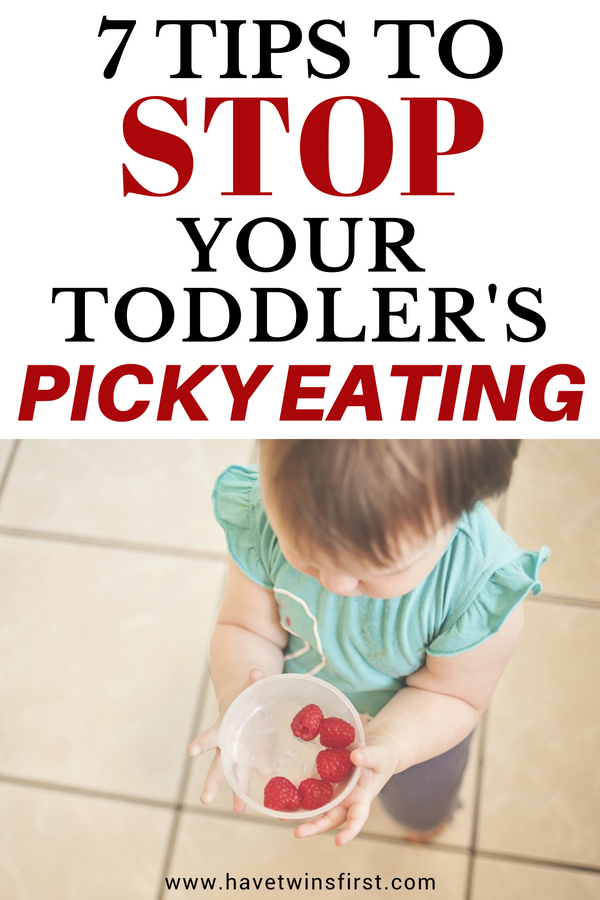 stop picky eating from toddler