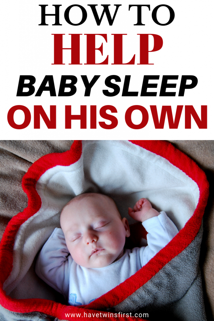 how to get baby to sleep alone