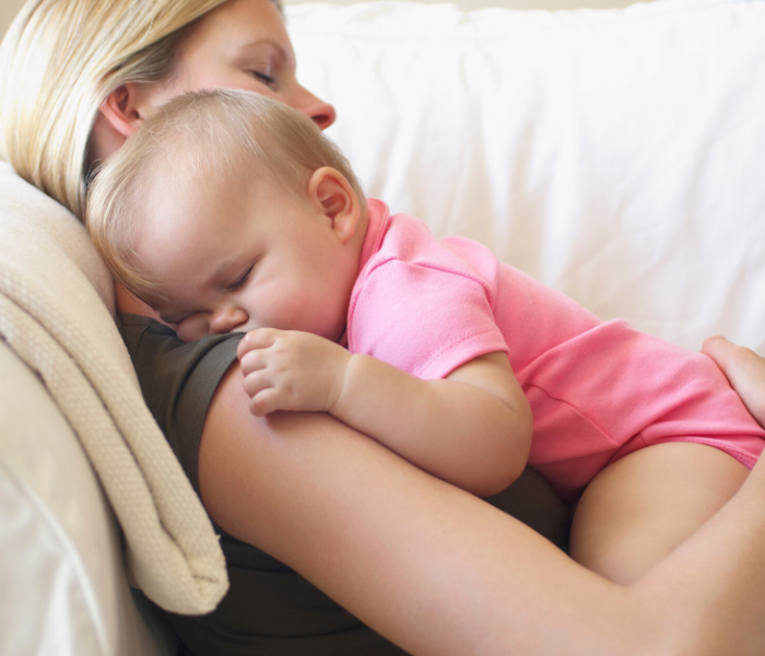 What To Do When Baby Won't Sleep Unless Held