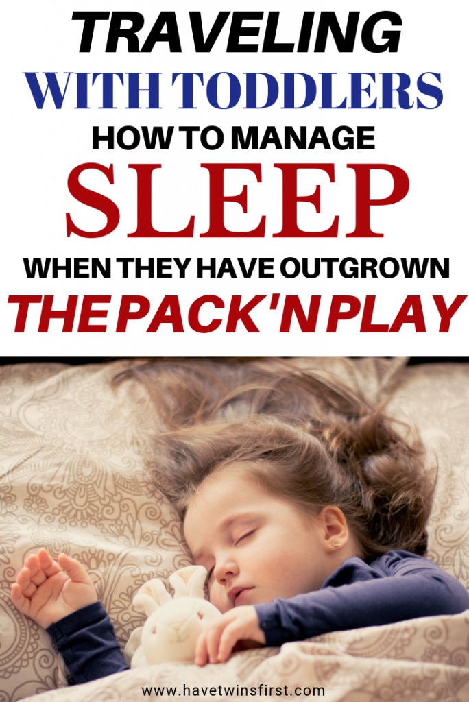 managing sleep when traveling with toddlers