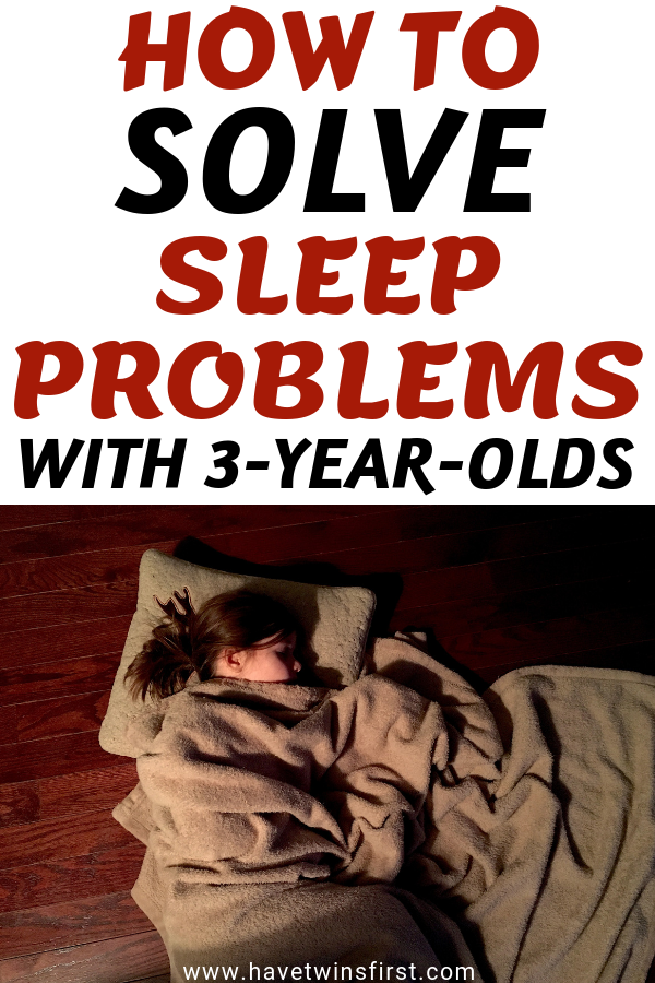 how to solve sleeping problems in 3-year-olds