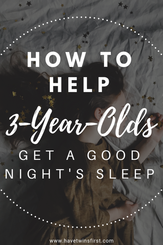 helping your 3 year old get a good night's sleep