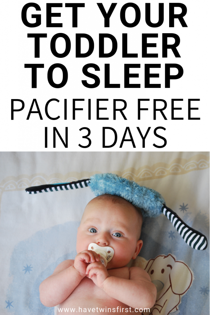 how to get toddler to sleep without a pacifier