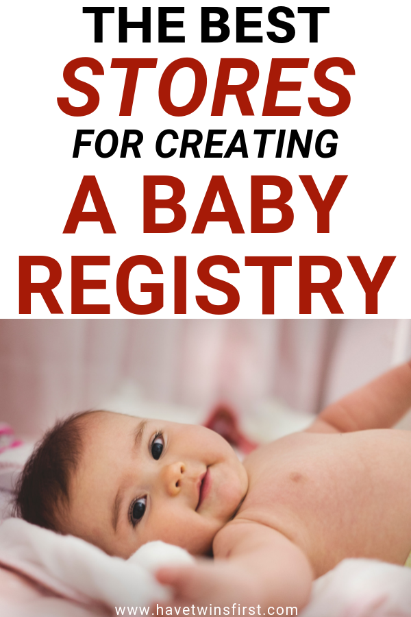 best stores for a baby registry