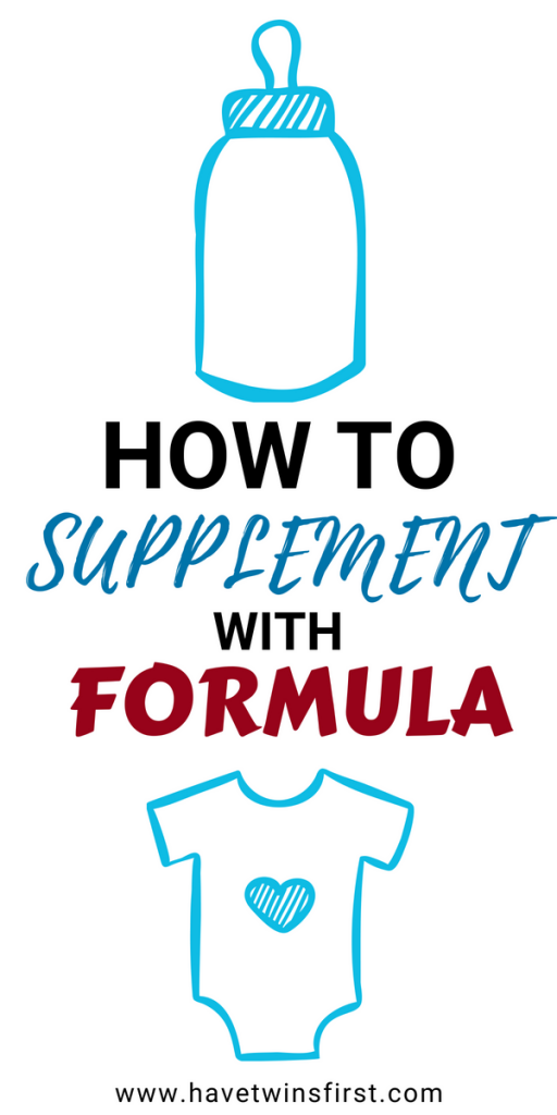 how to supplement with formula while breastfeeding