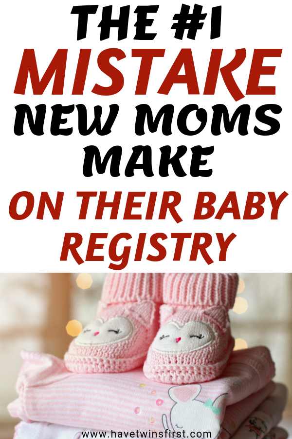 the biggest mistake new parents make on their baby registries