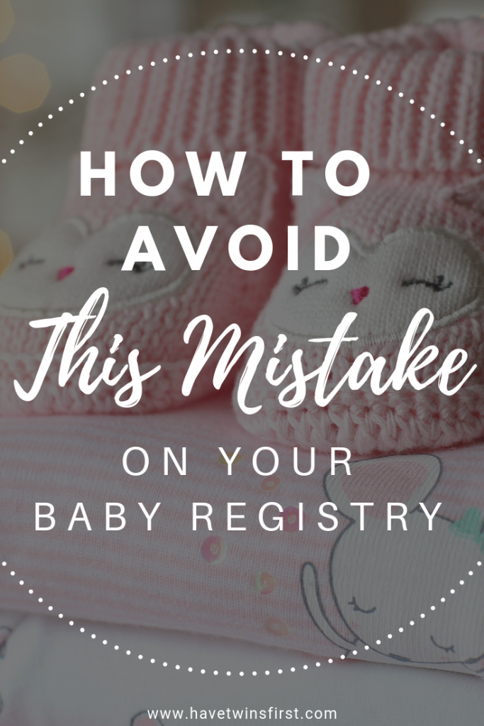 the biggest mistake parents make on their baby registry