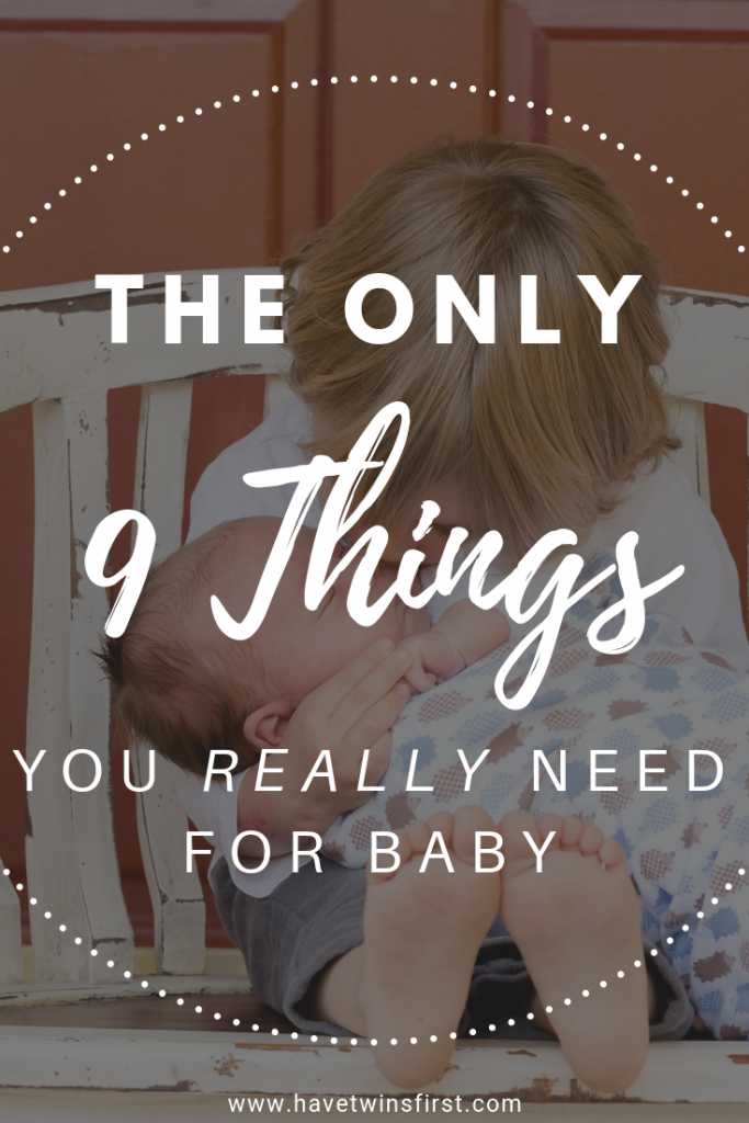 the only baby gear you actually need for your baby