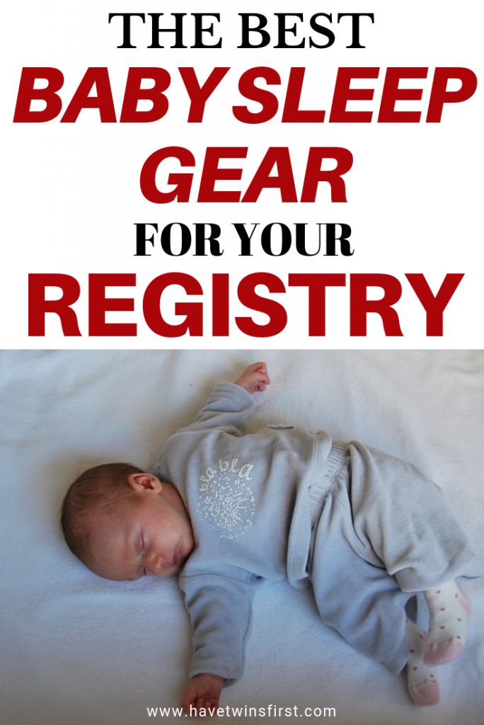 essential baby sleep registry items