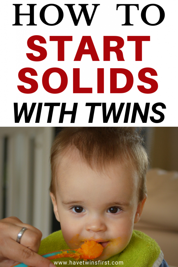 starting solids with twins