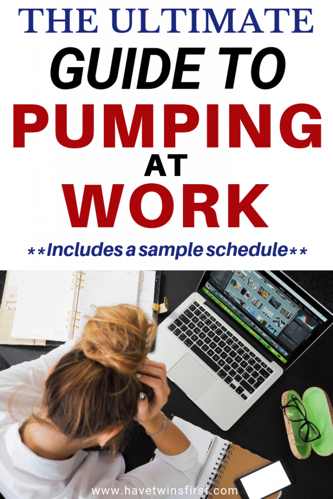 pumping at work schedule