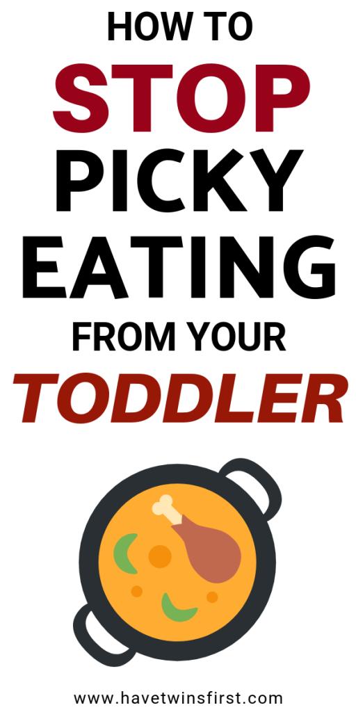 prevent toddler picky eating