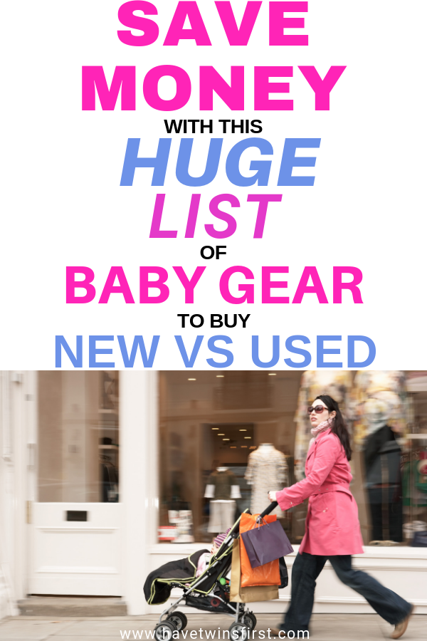 baby items to buy used
