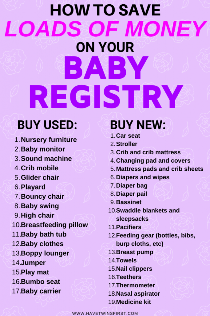 The Best Baby Items To Buy Used | Have Twins First