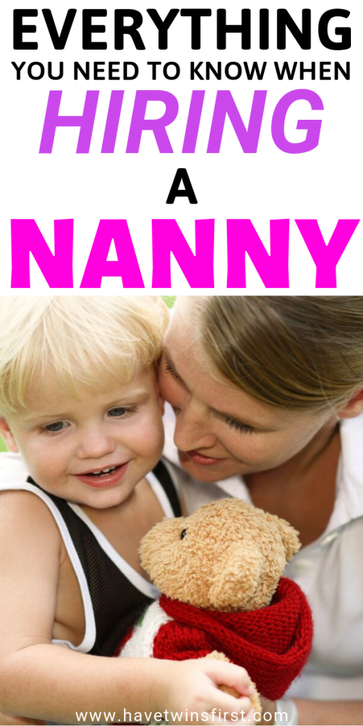 how to find a good nanny for your family