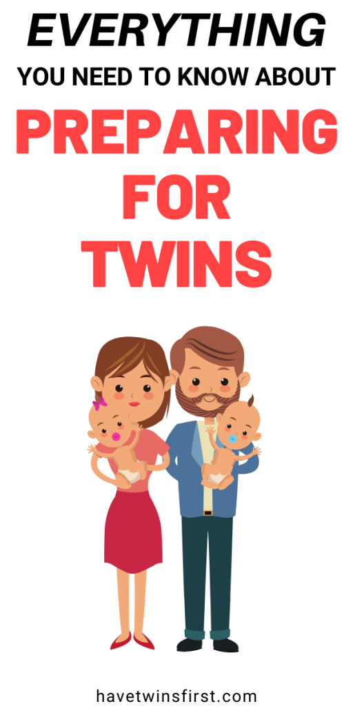 Everything you need to know about preparing for twins.
