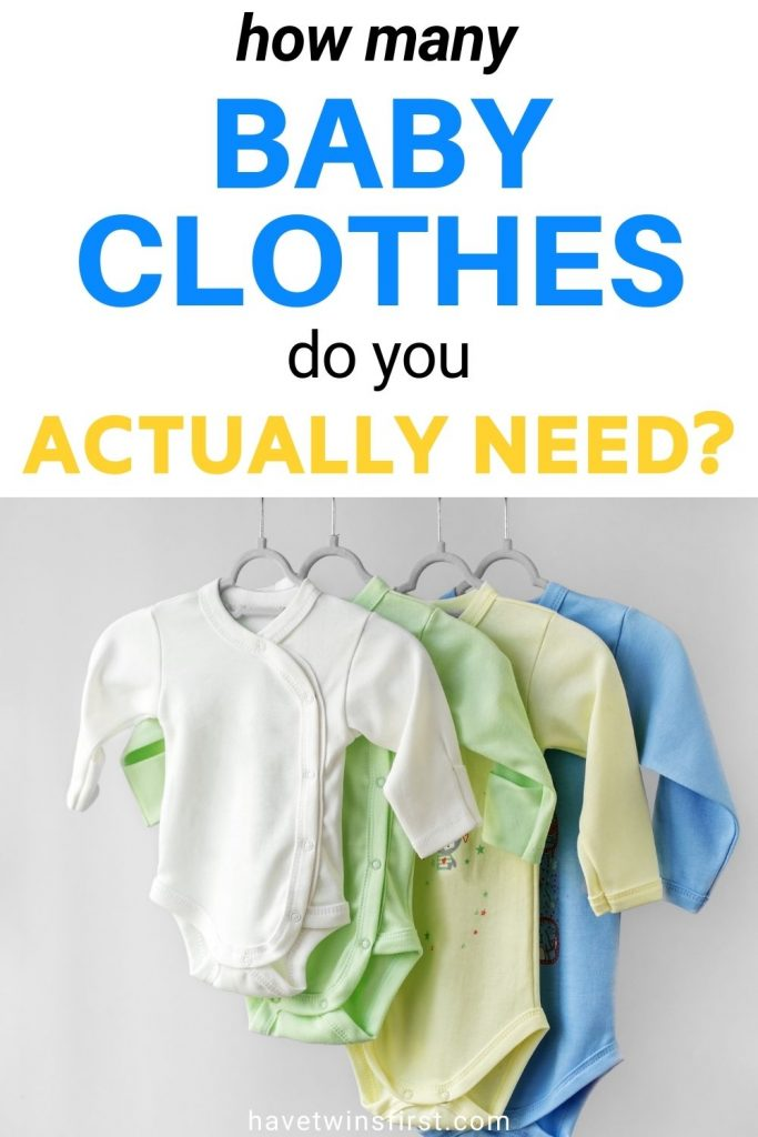 How many baby clothes do you actually need?
