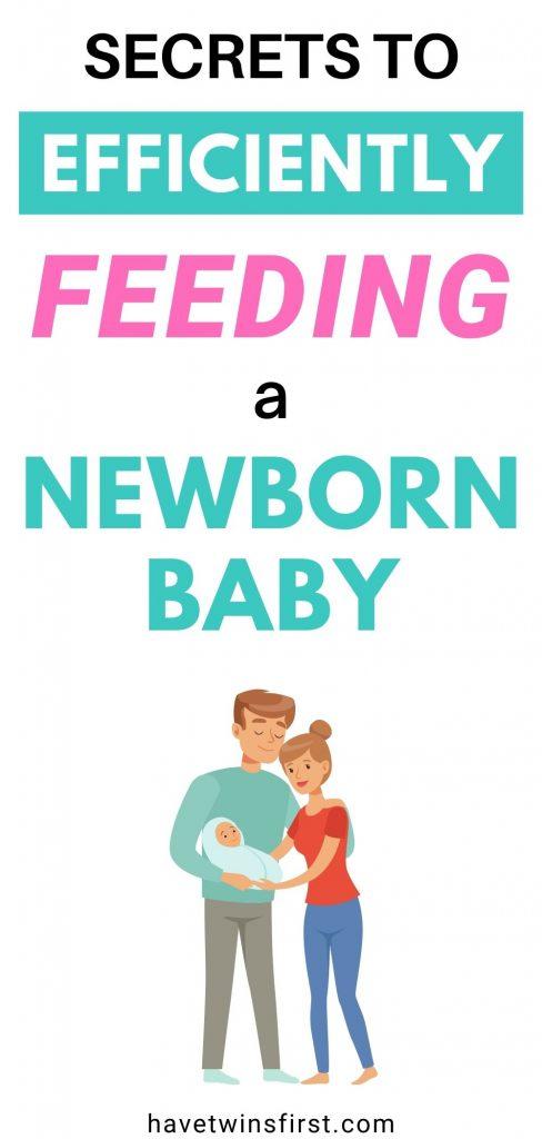 Secrets to efficiently feeding a newborn baby.