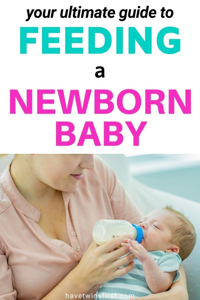 Your ultimate guide to feeding a newborn baby.